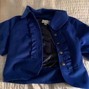 Very cute royal blue jacket!